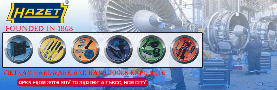VIETNAM HARDWARE AND HAND TOOLS EXPO 2016